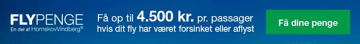 Flypenge banner
