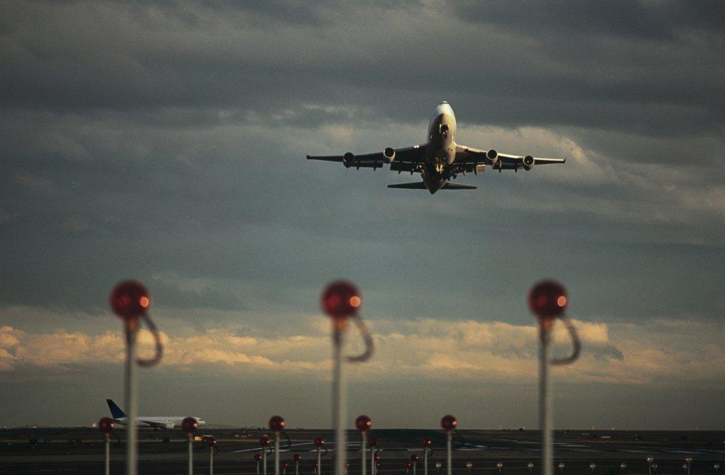 Fly letter i lufthavn